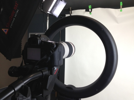 Canon 5D Markiii with Diva Ring Light
